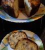 Кекс с банани и ябълки